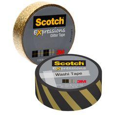 En Walmart puedes conseguir los Scotch Expressions Tape de 10.9 yd a $2.63 regularmente. Compra (1) y utiliza (1) cupón de manufacturero de ..