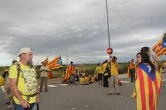 #tram213 #tram214 #Viacatalana #11s2013 Foto de Montserrat Rossell