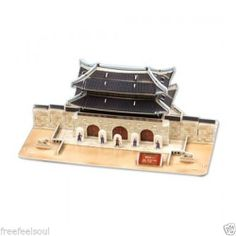 Paper Toy Scale Model Kit for Kids Adult - Gwanghwa Gate(King Size)