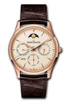 Jaeger Le Coultre Master Ultra Thin Perpetual Watch 1302520 – The Finest Watches