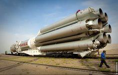 Russian Proton rocket