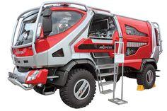 Fire concept truck by Morita