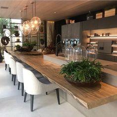 Home Decor Kitchen, Diy Kitchen, Kitchen Ideas, Kitchen Wood, Awesome Kitchen, Beautiful Kitchen, Kitchen Industrial, Kitchen Living, Kitchen Colors