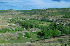 Vistas desde el Mirador de los Callejones de Palomera