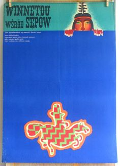 Winnetou Collections movies 1964s  Unter Geiern by artwardrobe, $41.00