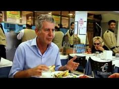 Anthony Bourdain • food tour of Istanbul • link to 42min TV show
