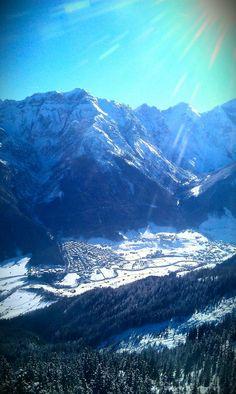 #stubai alps in winter,  austria