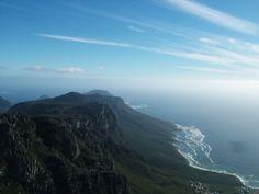 Tafelberg im Table Mountain Nationalpark in Südafrika
