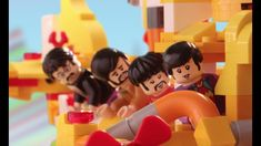 The Beatles' LEGO Yellow Submarine vs. the Sea Monster