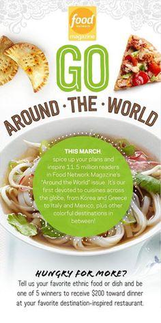 Go Around the World #Contest