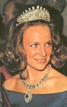 Princess Irene of the Netherlands ex wife of don Carlos Hugo de Bourbon de Parme.