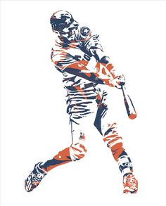 Carlos Correa HOUSTON ASTROS PIXEL ART 3 Art Print by Joe Hamilton. All prints are professionally printed, packaged, and shipped within 3 - 4 business days. Rockies Baseball, Baseball Art, Joe Hamilton, 3 Arts, Houston Astros, Mlb Wallpaper, Pixel Art, Thing 1, Love Bugs