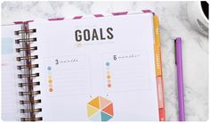 Goal Setting in Your Weekly Planner