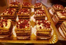 Prăjitură Hortansa, un dulce rafinat Romanian Desserts, Tiramisu, Waffles, Sweet Treats, Breakfast, Ethnic Recipes, Food, Workshop, Pies