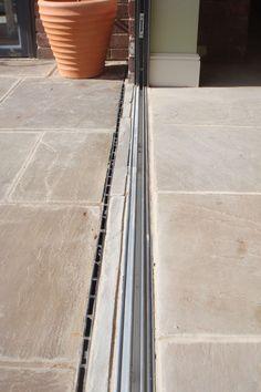 Flush Threshold for Aluminium Bi-Folding Doors