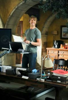 Eric Christian Olsen as Marty Deeks (NCIS:LA S5)