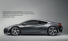 iN-XS: Acura NSX concept debuts its 4WD hybrid supercar at 2013 NAIAS in Detroit. #Acura #NSX # NAIAS