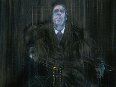Francis Bacon's 'Study for a Portrait' (detail).
