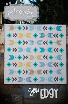 Sew Edgy quilt pattern