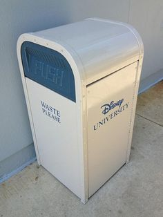 Does Monsters University have cool trash cans? Maybe it's time you transfer to Disney University!