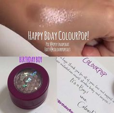 Colourpop- birthday boy It's coming out sometime in May!!!! (Trying to find an exact date)  UPDATE: ok so this is another update, someone told me it was the first Thursday of May, still don't know if that's correct or not