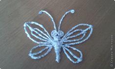 Плетение - МК Бабочка из фольги