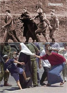 "Pinner writes: ""The parallels are striking. :( "" - This is Daily Life in Occupied Palestine - These are Jewish Settlers. Parents teaching their children hate and entitlement (as God's chosen people). Throwing rocks at Palestinian children as they walk to school is also common, often needing medical treatment. Settler parents simply stand by and often encourage the behavior. Occupy soldiers do nothing. Numberous cases documented by human rights groups."