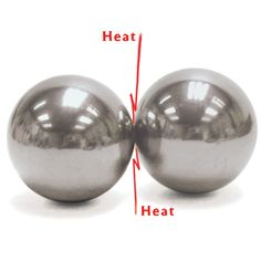 KIT:Strike the two spheres together with paper between and observe the conversion of mechanical energy into heat energy. Heat Energy, Thermal Energy, Nissan 350z, Bmw E30, Nuclear Reaction, Burnt Paper, Next Generation Science Standards, Kinetic Energy, Things Under A Microscope