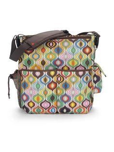 Skip Hop Jonathan Adler Duo Diaper Bag in Wave Multi Baby Diaper Bags, Diaper Bag Backpack, Nappy Bags, Designer Baby Bags, Molly Sims, Jonathan Adler, Goodie Bags, Vera Bradley Backpack, Baby Items