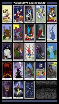 A Magical Kingdom Indeed! Disney Tarot Cards