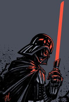 Vader - Patron Reward - Timelapse Video by cruzarte on DeviantArt Star Wars Pictures, Star Wars Images, Star Wars Fan Art, Vader Star Wars, Darth Vader, Star Wars Wallpaper Iphone, Susanoo, Star Wars Poster, Sith