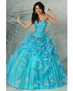 Quinceanera Dresses, Quinceanera Gowns, Vestidos de Quinceanera - this dress is really quite beautiful and it comes in many different colors.