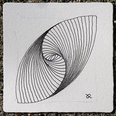 """""""more Paradox how to"""" - by Rick Roberts on his zentangle blogspot"""