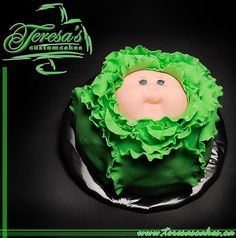 Awesome Cabbage Patch Kids Cake.  Teresa's Custom Cakes