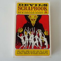 Vintage 1964 Devil's Scrapbook Jerome Bixby Paperback Book 1st Edition Fantasy Horror Exorcist Devil Sex Shock Terror Occult by VintageBlackCatz on Etsy
