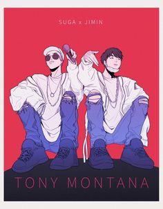 ~Tony Montana~ #bts #suga #jimin