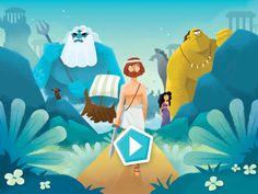 Ulysse : le voyage du héros grec mis en scène en 15 tableaux animés