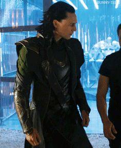 Nugget man is here! Loki strut...You SEXY LOKI MAN!