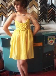 Blossom Dress, Loving this retro, sunshine dress from UsTrendy, would make a lovely bridesmaid dress too! $95