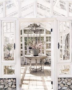 I'm getting lots of questions about where to find this month's issue of Flea Market Style magazine. People were saying the magazine was… Window Greenhouse, Backyard Greenhouse, Greenhouse Plans, Small Greenhouse, Greenhouse Wedding, Outdoor Spaces, Outdoor Living, Outdoor Sheds, Outdoor Gardens