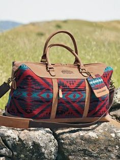 Pendleton Weekender - also part of my anniversary present! It is a great bag!