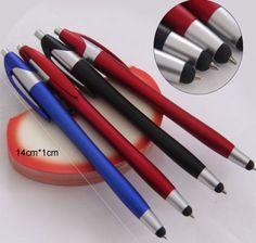 Slim branded custom stylus pen Item No:CN7342