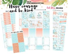 cf5b5bc65906 Planner Sticker Printable for Erin Condren Planner