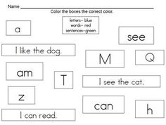 Concepts of Print Activities - kindertrips - TeachersPayTeachers.com