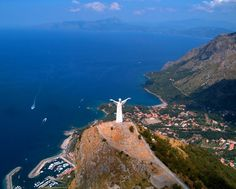Christus over Maratea, Italy