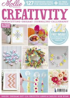 Maritza Lisa Featured In Mollie Makes Creativity - So happy to be featured in Mollie Makes Creativity Book-zine! Click through for details!