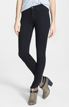 rag & bone/JEAN Plush Twill Leggings available at *best pants EVER! Nordstrom Jeans, Nordstrom Dresses, Nordstrom Rack, Most Comfortable Work Boots, Legging Jeans, Treggings, Stretch Denim, Autumn Winter Fashion, Black Jeans
