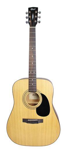 Cort AD810 Open Pore Acoustic Guitar - Natural