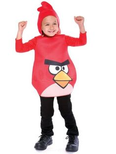Angry Birds Red Bird Costume  2T