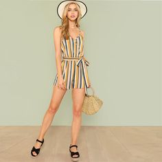 Sexy Women Floral Print Jumpsuit Chiffon Playsuit Summer Beach Boho Strap Romper Party Overalls Jl Packing Of Nominated Brand Women's Clothing